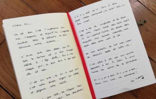 Lettre à la vie par Anna Adella, jeune écrivain française